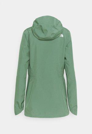 WOMENS HIKESTELLER JACKET - Hardshell jacket - agave green