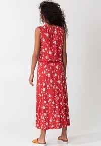 Indiska - KARLA - Day dress - red - 2