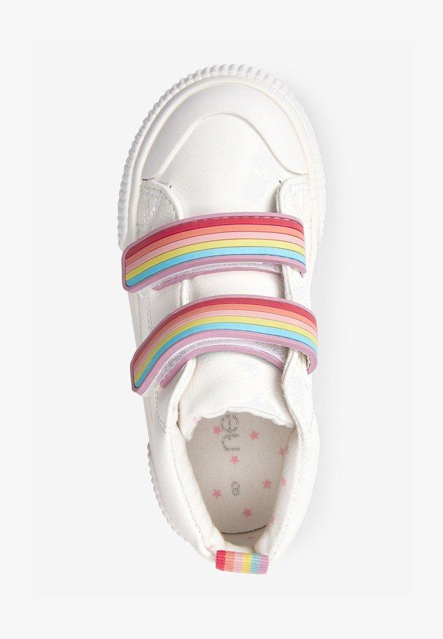 TOUCH FASTENING  - Kotníkové boty - white
