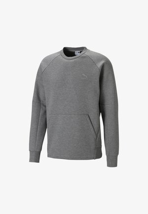 CLASSICS TECH - Sweatshirt - medium gray heather