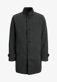 Kurzmantel - dark grey melange