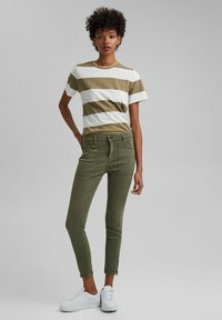 edc by Esprit - Slim fit jeans - khaki green - 0