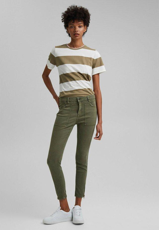 Jean slim - khaki green