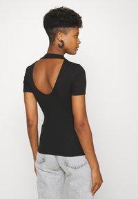 Even&Odd - Basic T-shirt - black - 2