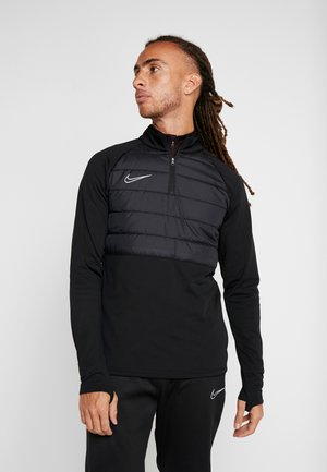 DRY PAD ACADEMY WINTERIZED - Fleece jumper - black/silver