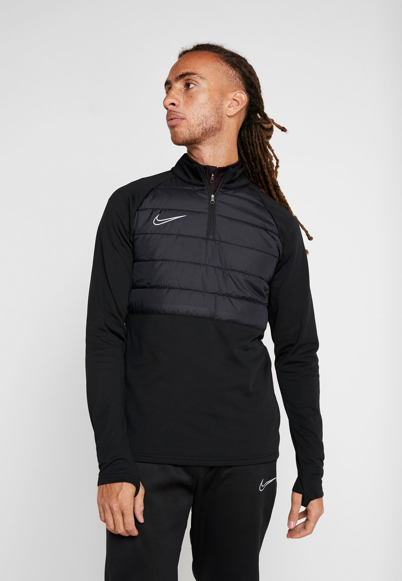 Nike Performance - DRY PAD ACADEMY WINTERIZED - Sweat polaire - black/silver