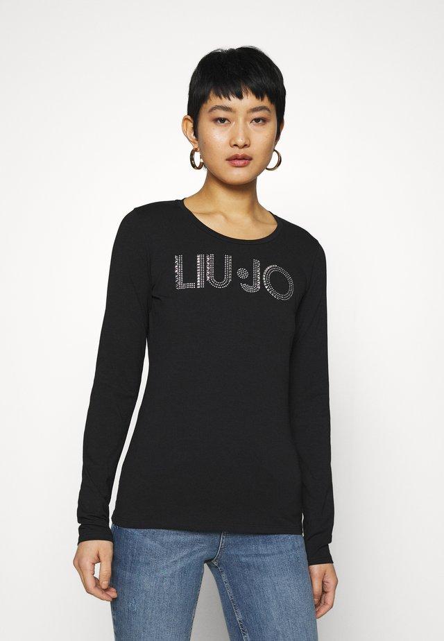 LONGSLEEVE - Maglietta a manica lunga - nero