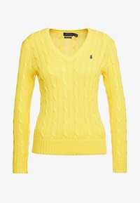 Polo Ralph Lauren - CLASSIC - Jumper - trainer yellow - 4