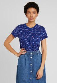 Levi's® - THE PERFECT CREW - Print T-shirt - sodalite blue - 0