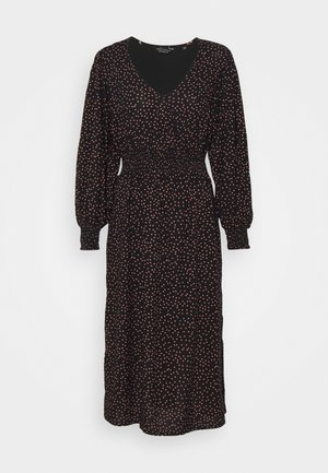 PEACH DRESS - Day dress - black
