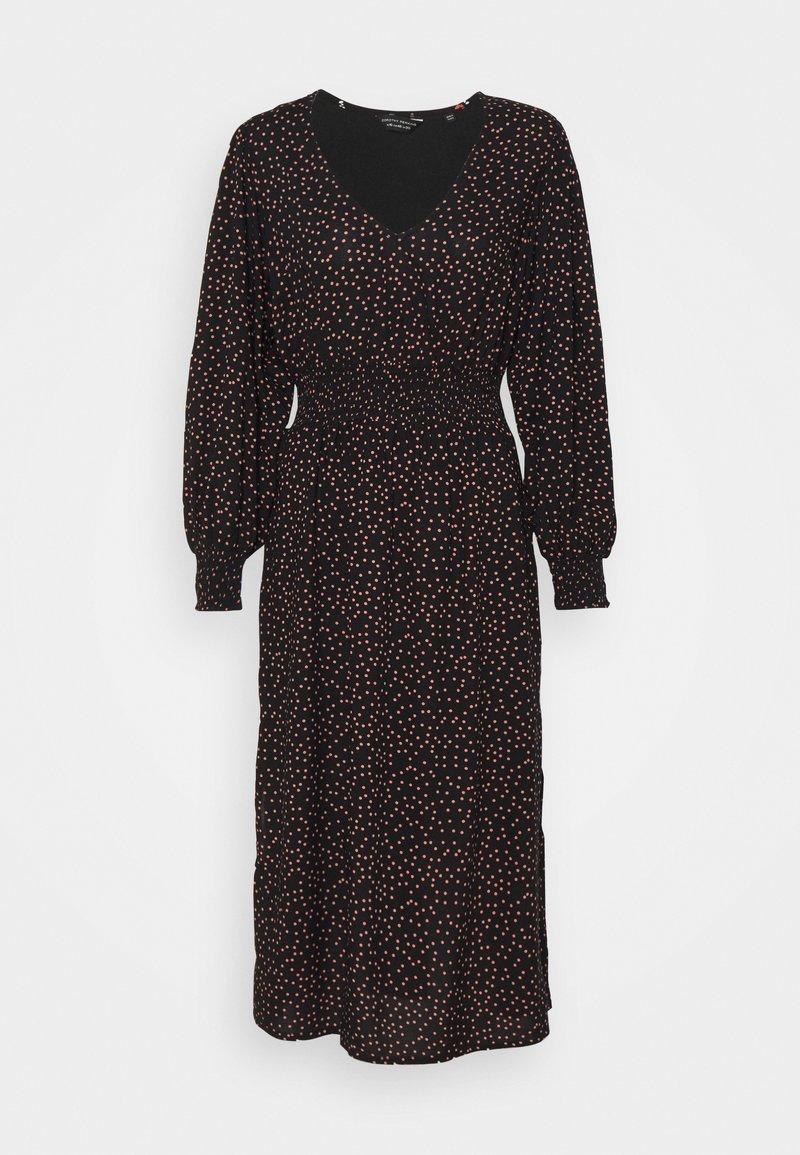Dorothy Perkins Petite - PEACH DRESS - Day dress - black