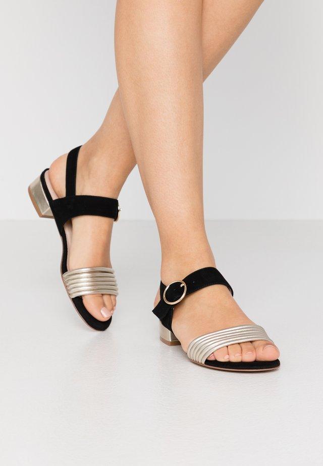 BADRA - Sandals - black