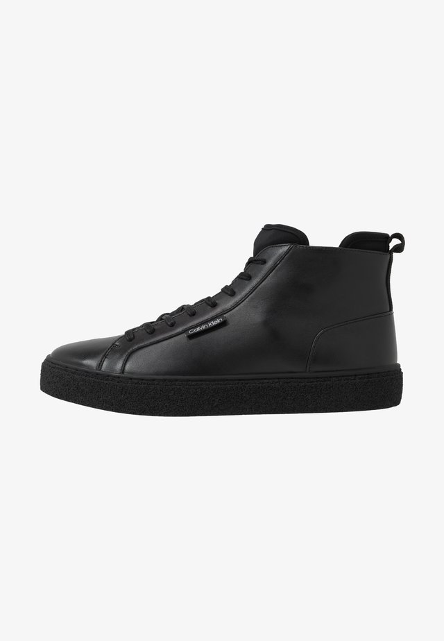 ERVE - Sneakers alte - black