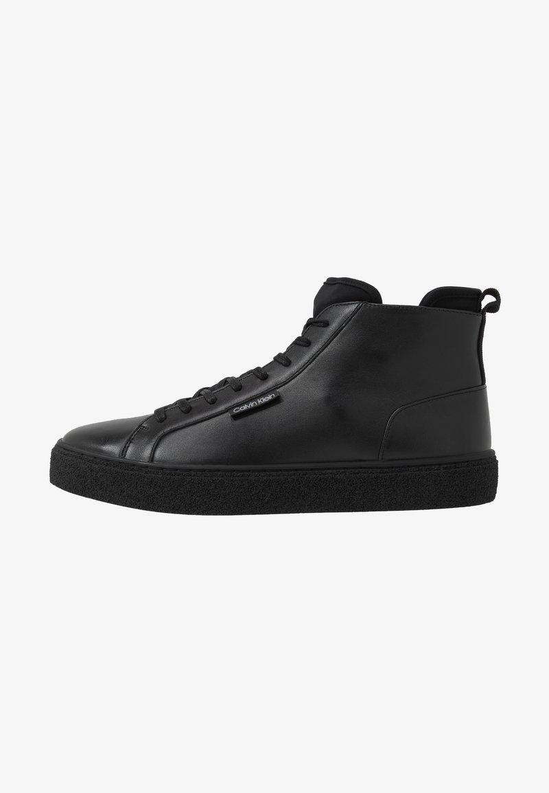 Calvin Klein - ERVE - Sneakersy wysokie - black