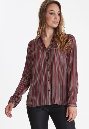 PZMARIAN  - Button-down blouse - vineyard wine
