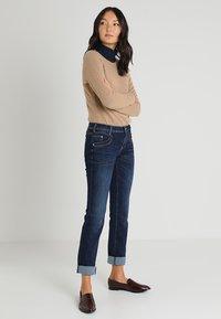 TOM TAILOR - ALEXA - Jeans Straight Leg - dark stone denim blue - 1