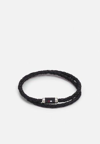 DOUBLE WRAP BRACELET  - Bracelet - black