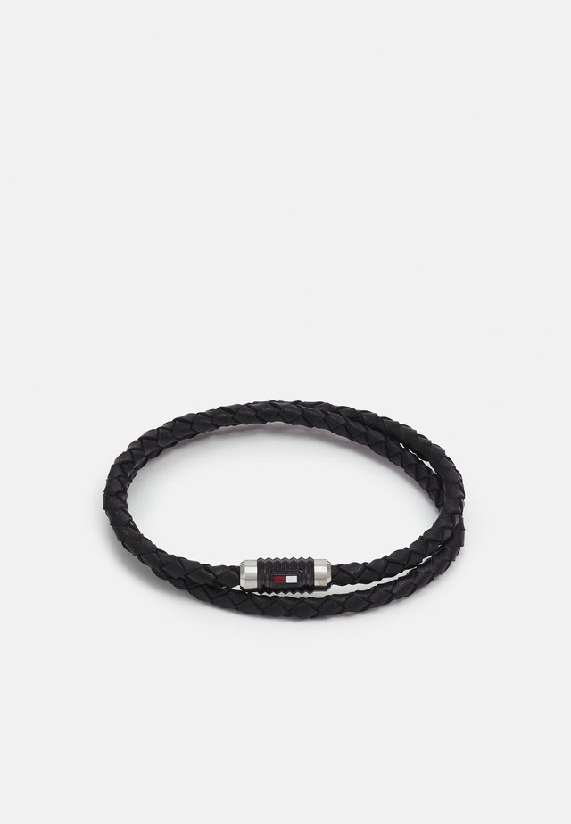 DOUBLE WRAP BRACELET  - Náramek - black
