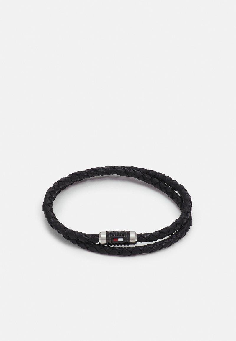 Tommy Hilfiger - DOUBLE WRAP BRACELET  - Bracelet - black