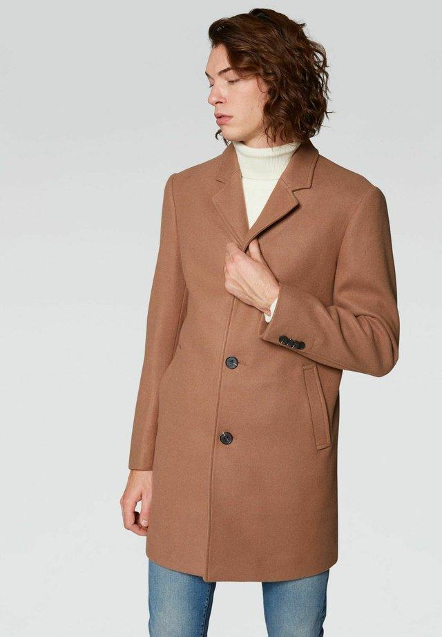 Cappotto corto - cammello