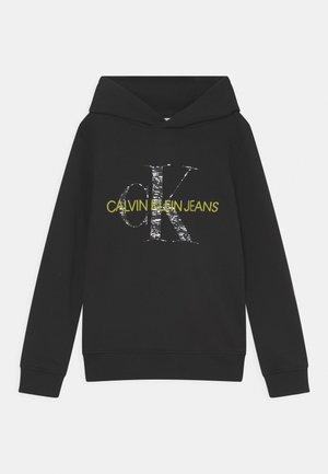 MONOGRAM NOISE HOODIE - Sweatshirt - black