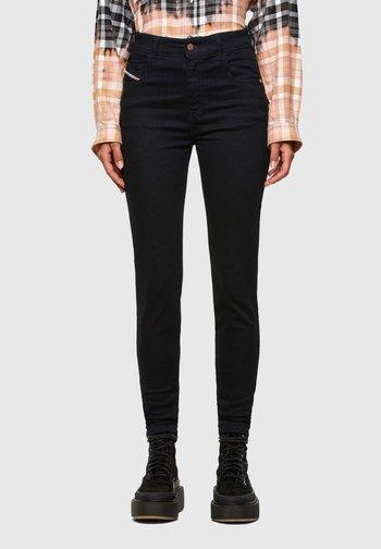 SLANDY HIGH - Jeans Skinny Fit - dark blue