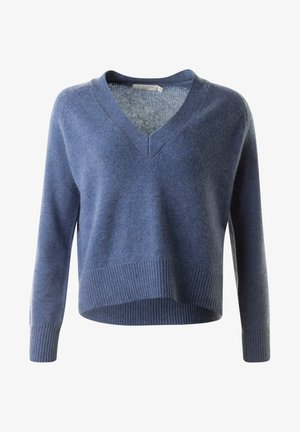 BRENDA - Stickad tröja - denimmel