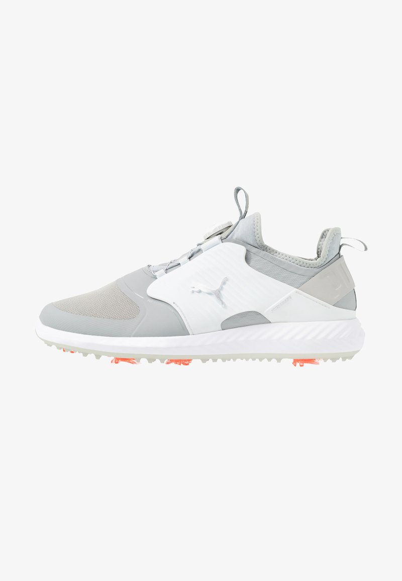 Puma Golf - IGNITE PWRADAPT CAGED DISC - Obuwie do golfa - gray violet/silver/white