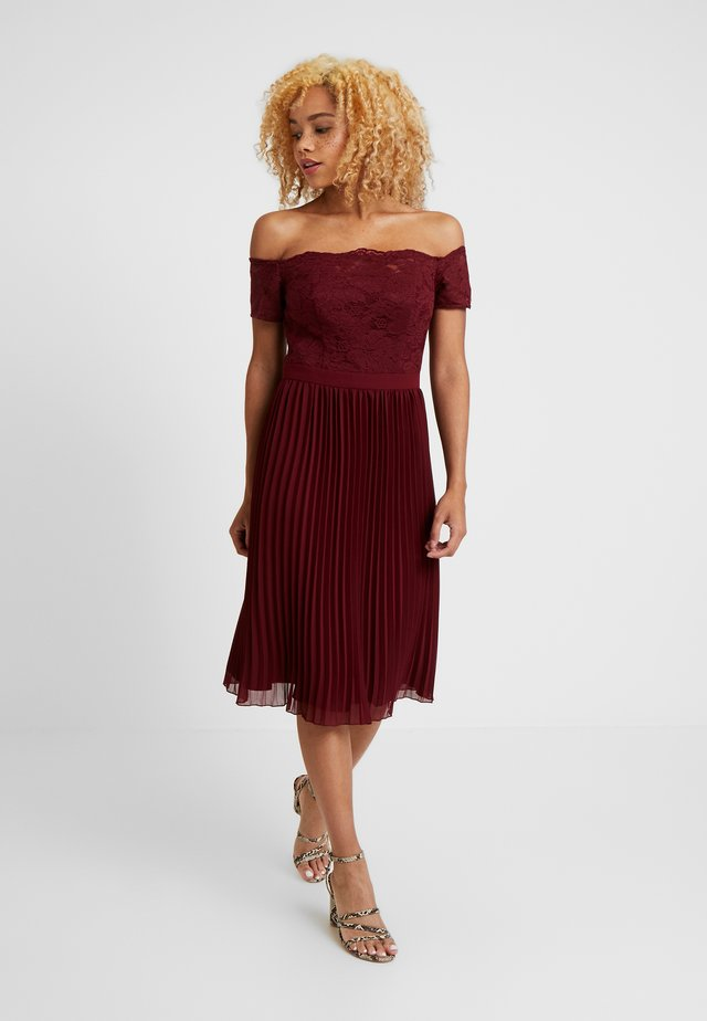 WRIGHT PETITE - Cocktail dress / Party dress - burgundy