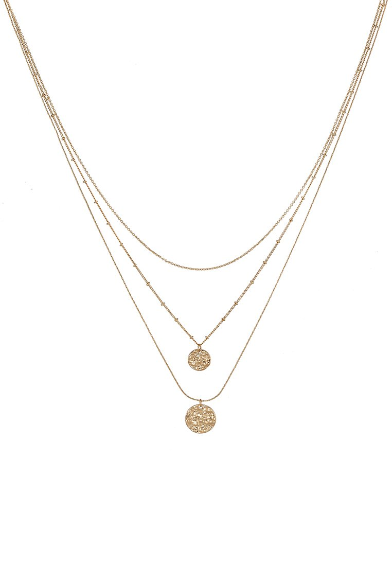 Pieces PCEIDA COMBI NECKLACE KEY - Smykke - gold-coloured/gull jcn12cn6hMAO9KV