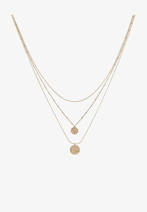 PCEIDA COMBI NECKLACE KEY - Smykke - gold-coloured