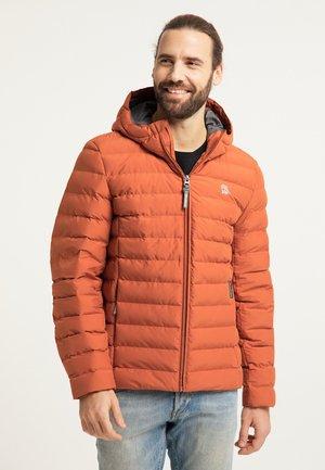 Winter jacket - rotbraun