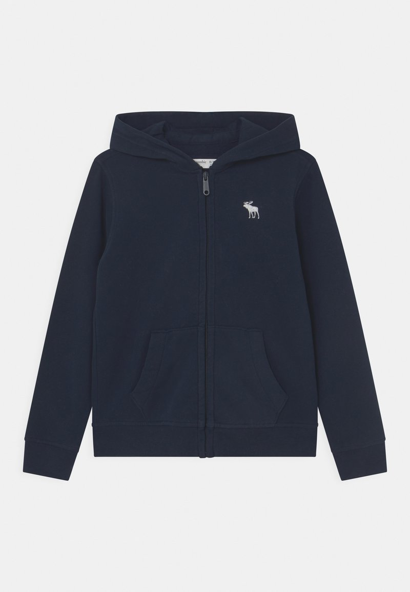 Abercrombie & Fitch - MOOST HAVE - Sweater met rits - navy