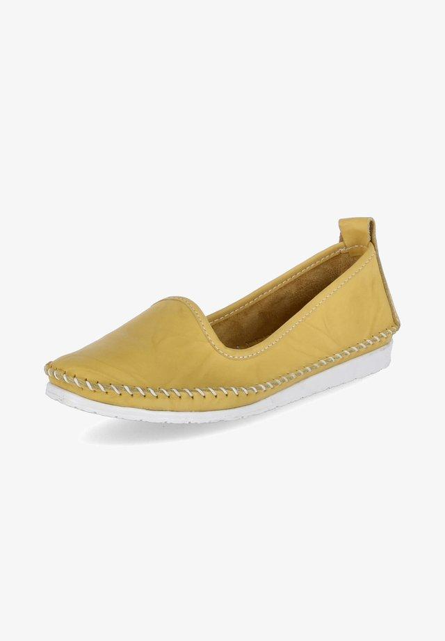 Espadrilles - gelb