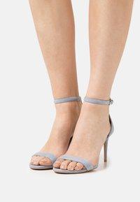 Steven New York - TATUM - Sandals - light blue - 0