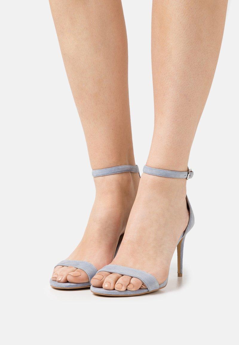 Steven New York - TATUM - Sandals - light blue