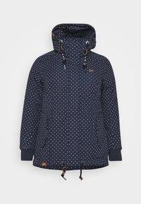 Ragwear Plus - DANKA DOTS - Zimní kabát - navy - 4