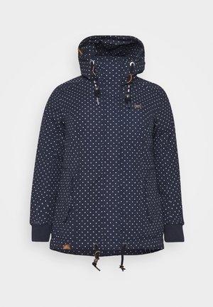 DANKA DOTS - Zimní kabát - navy