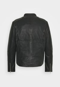 Only & Sons - ONSDEAN JACKET - Leather jacket - black - 7