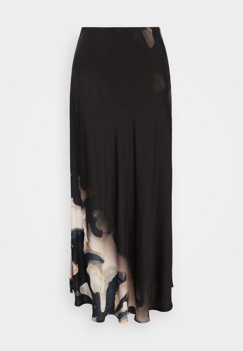 MUNTHE - RA - A-line skirt - black