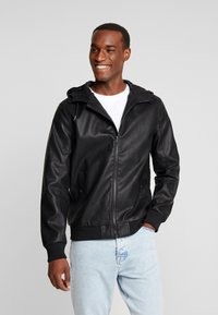 Pier One - Faux leather jacket - black - 0