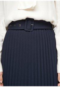 s.Oliver - A-line skirt - blue - 5
