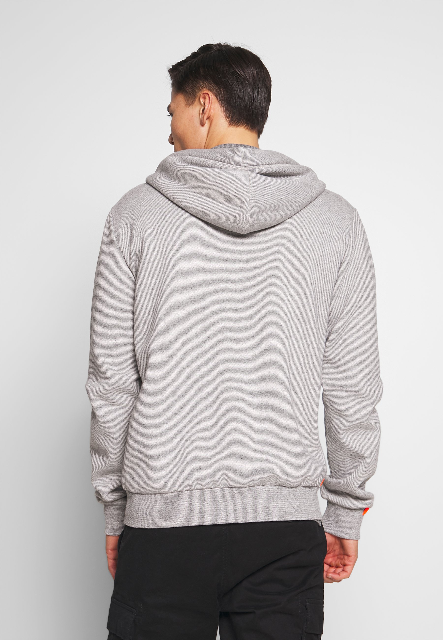 Superdry Orange Label Classic Zip Hood - Hettejakke Silver