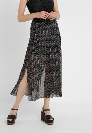 Długa spódnica - black /white