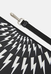 Neil Barrett - THUNDERBOLT FAIRISLE - Laptop bag - black/white - 5