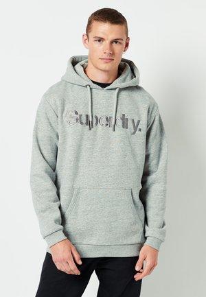 Hoodie - athletic grey marl