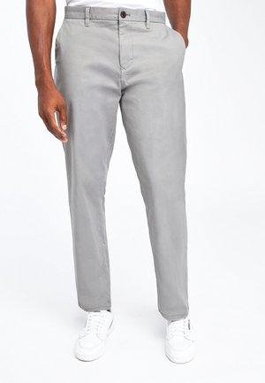 Chinos - mottled grey