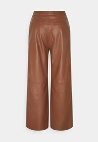 Part Two - ELAH - Leather trousers - chocolate glaze - 1