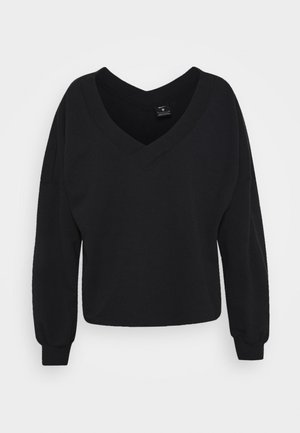 OFF MAT - Sweatshirt - black/smoke grey