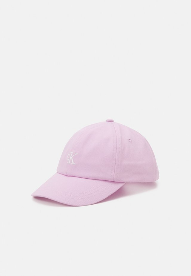 MONOGRAM BASEBALL UNISEX - Lippalakki - lavender pink